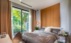 Căn hộ 1 phòng ngủ swan lake onsen